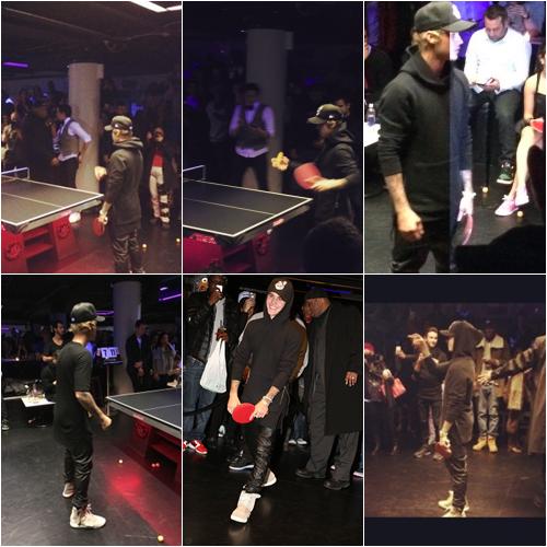 Le 03/02, Justin a été vu dans les rues de New York et ensuite il a été vu quittant le restaurant Nobu avec Hailey Baldwin!