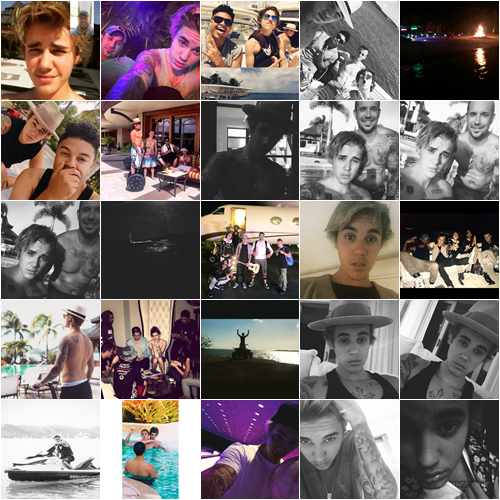 LE 18/03 - Justin a été vu alors qu'il se promenait dans Los Angeles!