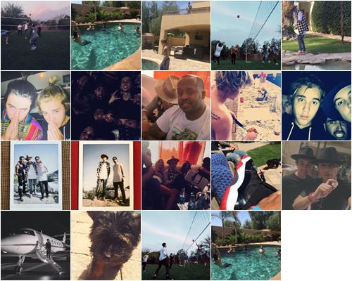 LE 05/04 - Durant son séjour à Hawai, Justin a été vu faisant une partie de golf!