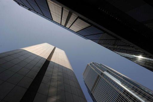 QG de la Hang Seng Bank à Hong Kong.