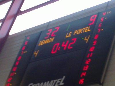 Denain bat Le Portel. 86 - 74