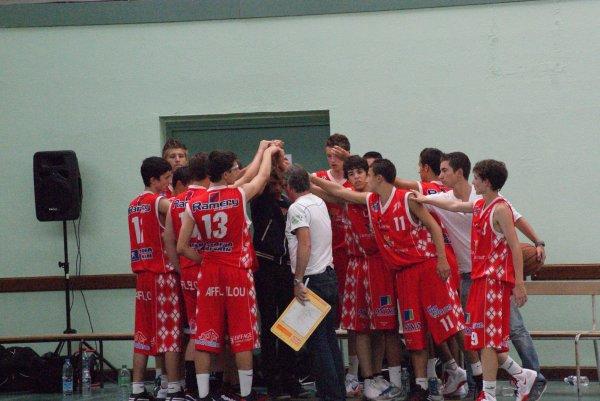 Les Cadets France termine quatriéme du tournoi Yoann-Szostak .