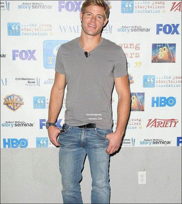* 15/10/2011 :Trevor a étais assisté et présent à la Fondation Jeunes conteursannuel«The BiggestShow 2011» !*