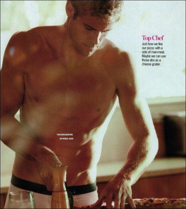 *  Plus les Scans de Trevor qui apparais dans le Magazine «Cosmopolitan» datant depuis Aôut 2010 «...»    *