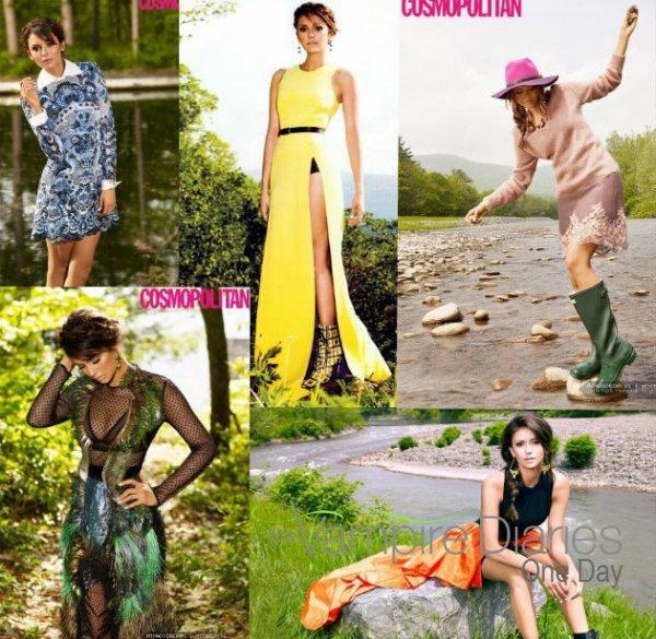 """Nina pour Cosmopolitan + photo twitter et instagram + Nina qui parle de son """"homme idéal"""" + les îles Turks and caicos + Photoshoot de  Candice"""