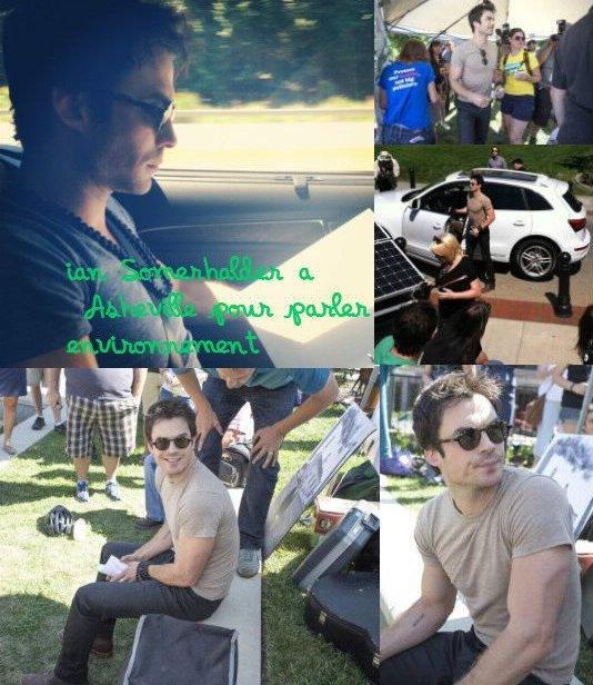 "Teen Choice + Cosmopolitan : Nina + Ian a Asheville + Photoshoot: Phoebe de Max Doyle + Nina pour ""Lux"" + le fameux T-shirt : ISF + Concert de bruno Mars !!"