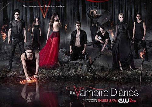 Poster Promo de la saison 5 de TVD par CW <3