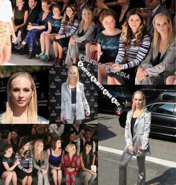 Nouveaux Portrait TVD et Originals + Candice a la fashion Week + SPOILERS + Video Instagram de Nina :)