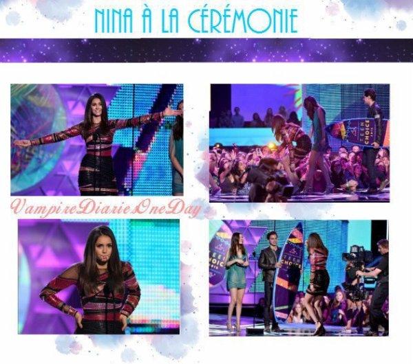 Nina Dobrev au Teen Choice Award 2015