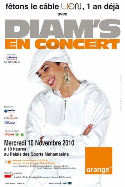 DIAM'S SOS TOUR 2010