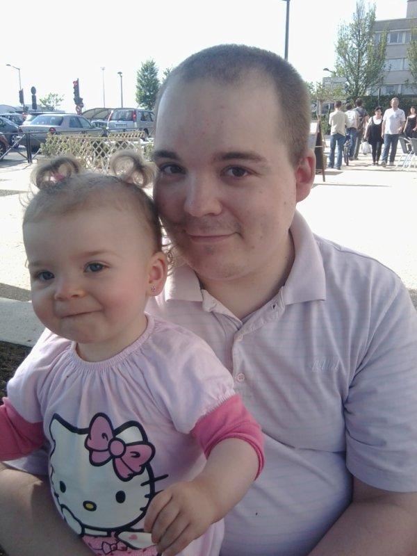Missy et son papa <3
