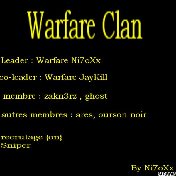 Warfare Clan