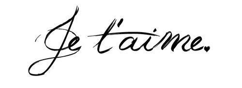"""*♥ Un jour je t'ai dis """"C'est pour la vie"""" et toi tu m'as dis """"C'est le paradis"""" ♥*"""