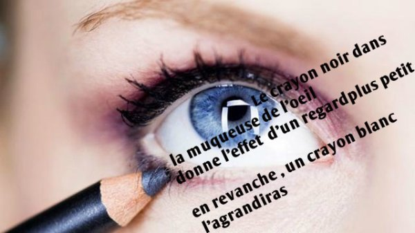 Maquiller ses yeux :)