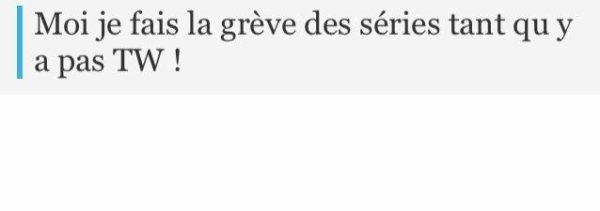 """""""La grève des SÉRIES.."""" MDRRR bah t'as jusqu'a l'été 2015 ! .. #TeenWolf"""