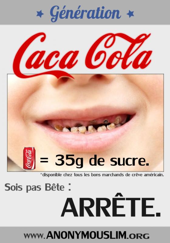 L'Impact de l'acide phosphorique présent dans  le Coca-cola  sur nos dents  :