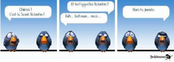 Humour :   St Valentin