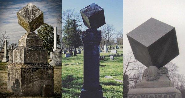 Symbolisme :   Le cube noire