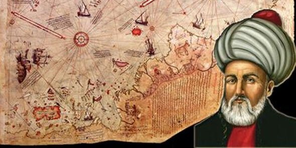 Complot ?  : La mystérieuse carte de   Piri Reis