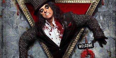 Info :   Alice Cooper ,le rocker ( sataniste ) se presente a la maison blanche  !