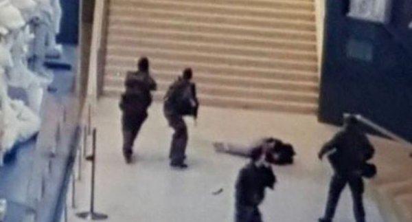 Humour :  Attentat du Louvre - Caljbeut