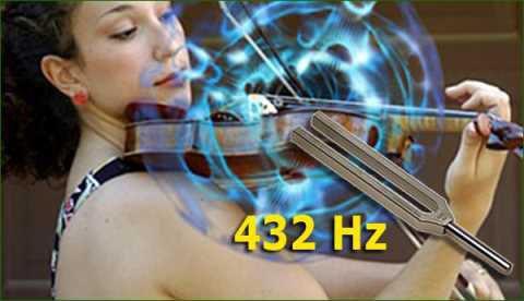 La fréquence de l'univers est de 432 hertz…GOEBELS L'A CHANGÉE POUR 440 HERTZ