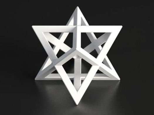 Symbolisme :  L'etoile de Merkaba