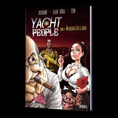 "Livre (BD)  :  ""   Yacht People 1 et 2  ""   by Zeon"