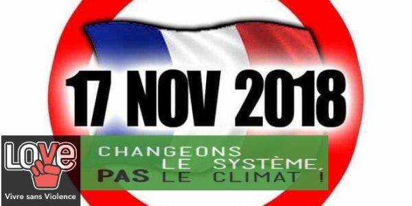Mobilisation le 17 Novembre !  Soyez nombreux sur les resaux sociaux .