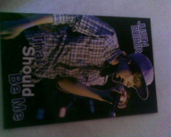 Je Me Suis  Achetter Des Cartes Justin Bieber