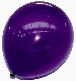 Des ballons mauve, violet pour l'anniversaire de Justin ! :)