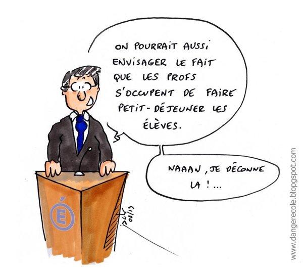 Pas merci Monsieur Peillon!!!
