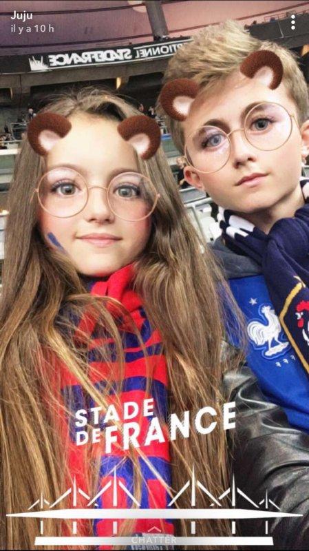 Au stade de France :-)