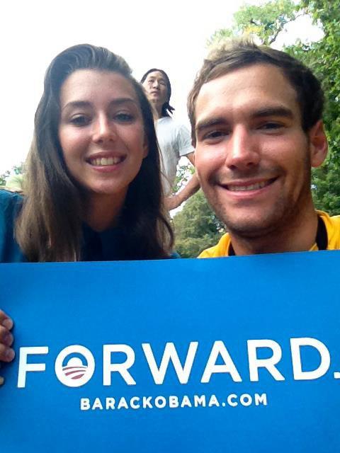 On a vu Obama en septembre à l'université de Julian à Boulder