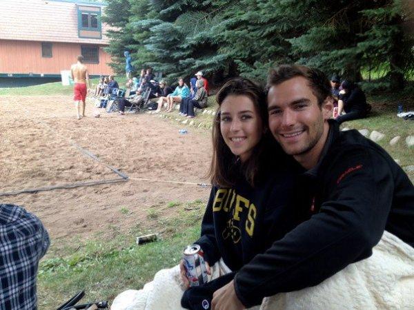 Julian et moi à Aspen dans le Colorado <3 <3 <3