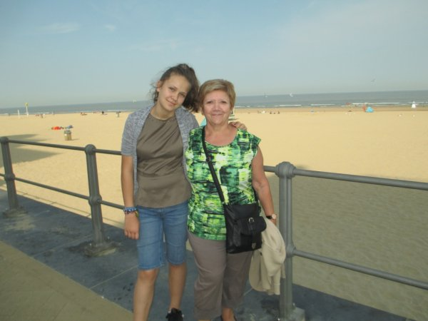 petite journée à la mer ostende , avec ma petite fille qui est plus grande que moi. elle à 13 ans