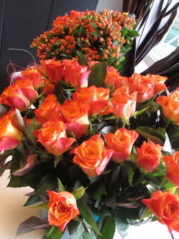 atelier floral du  mois d'octobre