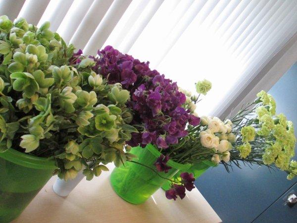 art floral du mois d'avril