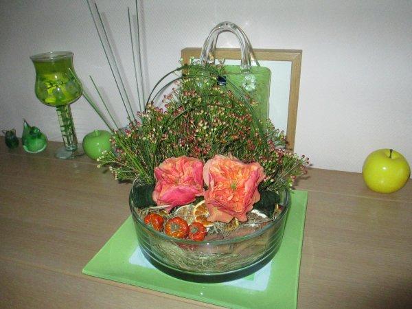 atelier floral de mois de novembre 2017