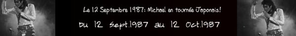 le 12/09/1987 au 12/10/1987:Japon avec quatorze dates