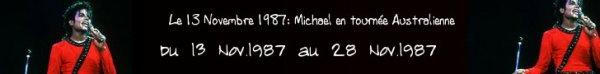 Le 13/11/1987 au 28/11/1987:  Bad World Tour date australienne