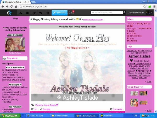 Voilà mes  nouveaux blogs!!