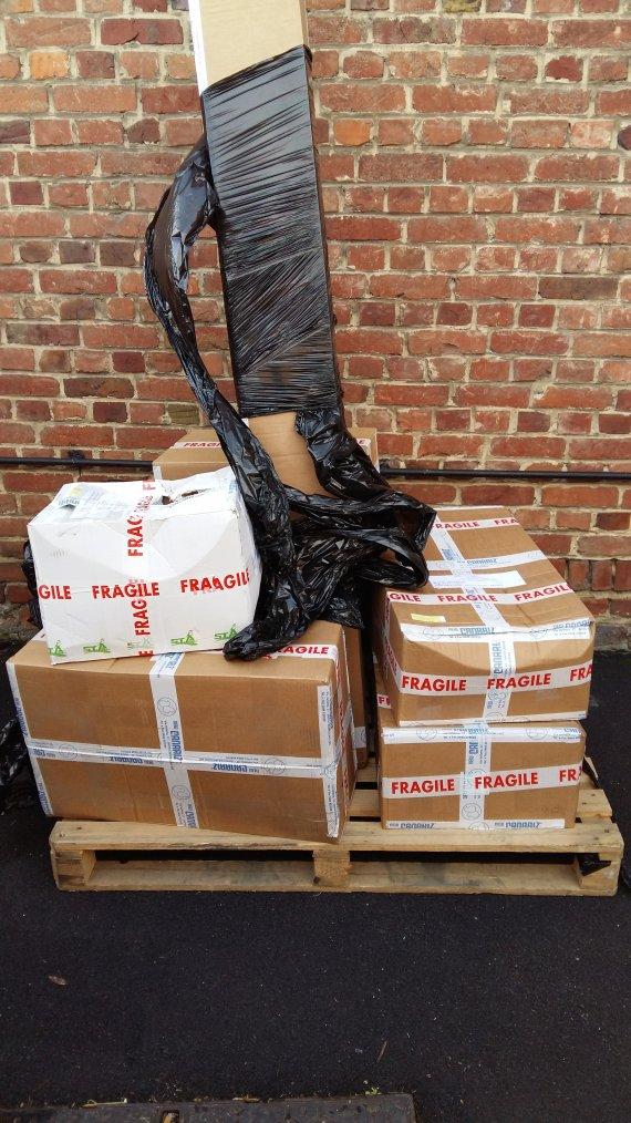 Batterie de 20 cages  new canariz reçu ce matin hâte de la monter