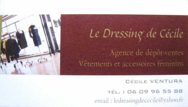 Le Dressing de Cécile