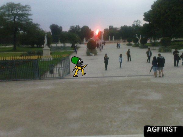 ***********************DE PASSAGE à PARIS***JARDIN des TUILERIES***********************