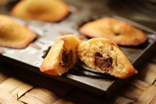 Partie Gourmandise: Les Madeleines Au Nutella