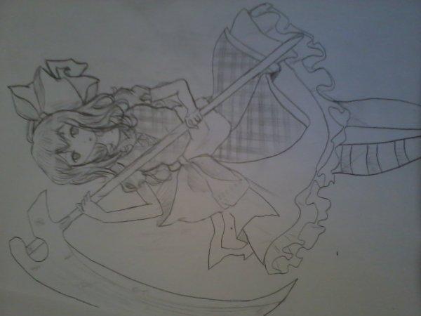 Mes dessin sur feuille x3