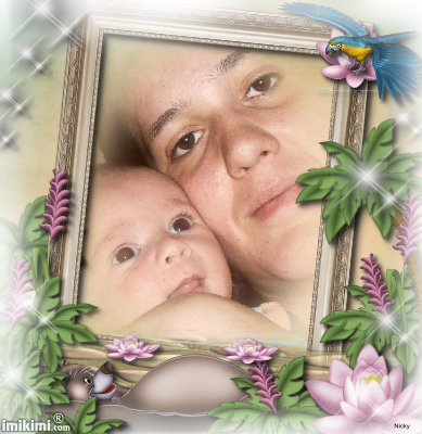 mon fils et ma femme