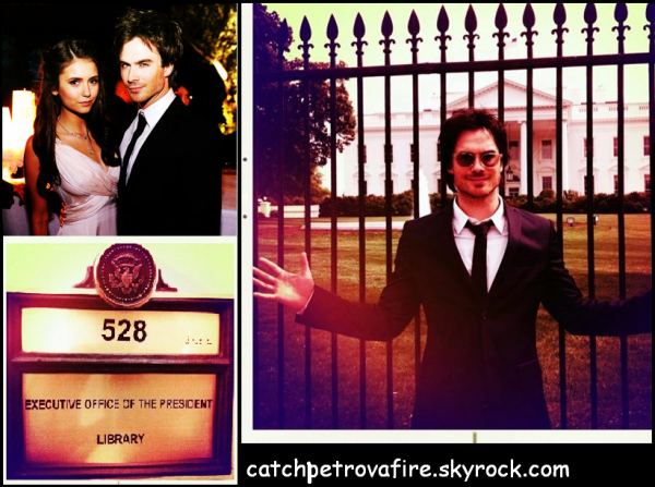 Nina et ian au 39 39 the white house correspondents for A la maison blanche saison 6
