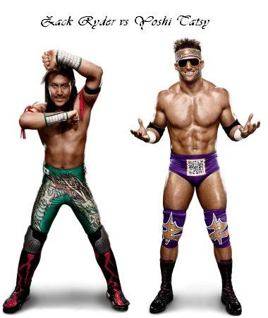 Yoshi Tatsu vs Zack Ryder